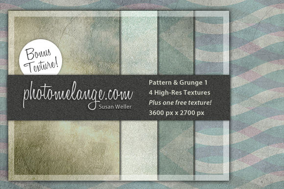 Pattern and Grunge Texture set