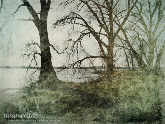 Landscape artwork fine art texture